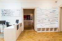 Vstup do expozice Muzeum všemi smysly