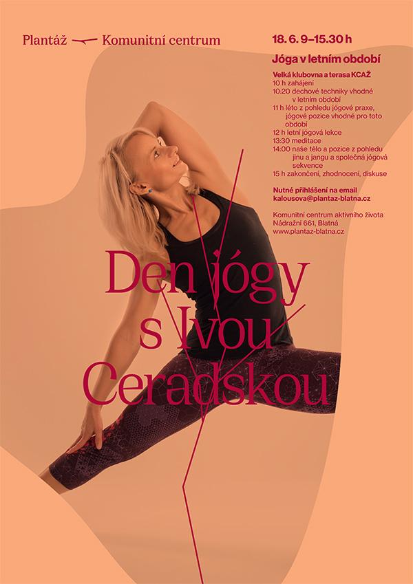 Den jógy s Ivou Ceradskou