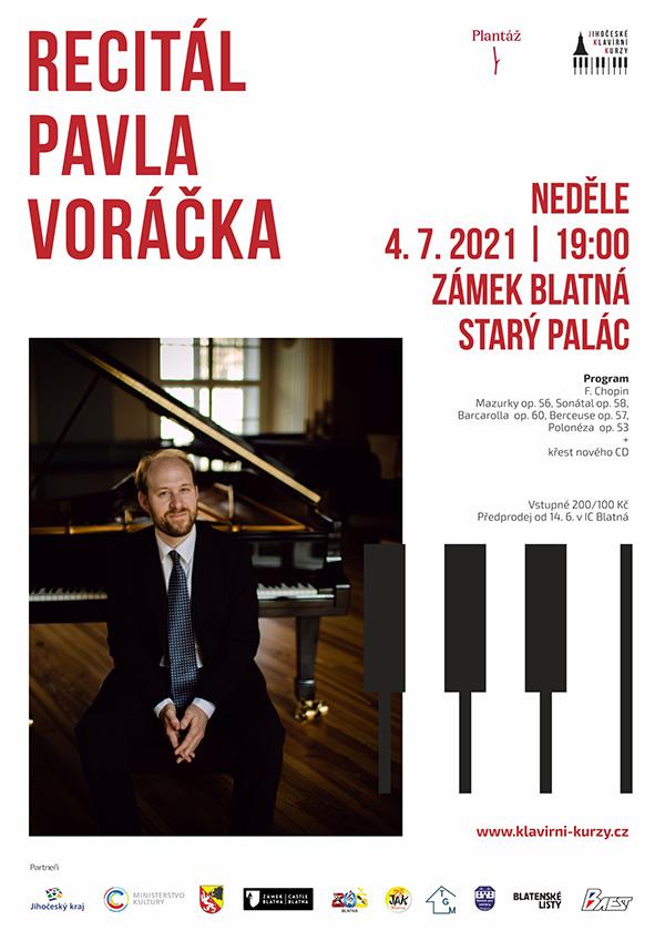 Klavírní recitál Pavla Voráčka + křest nového CD