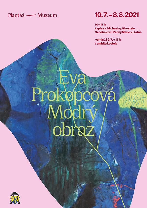 Eva Prokopcová: Modrý obraz