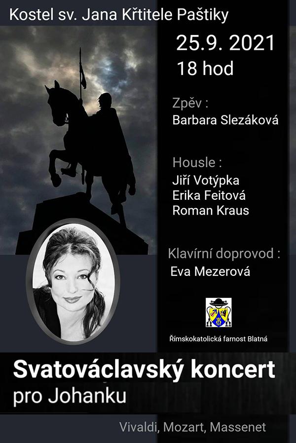 Svatováclavský koncert pro Johanku