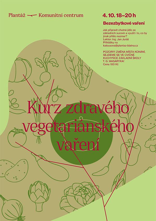 Kurz zdravého vegetariánského vaření
